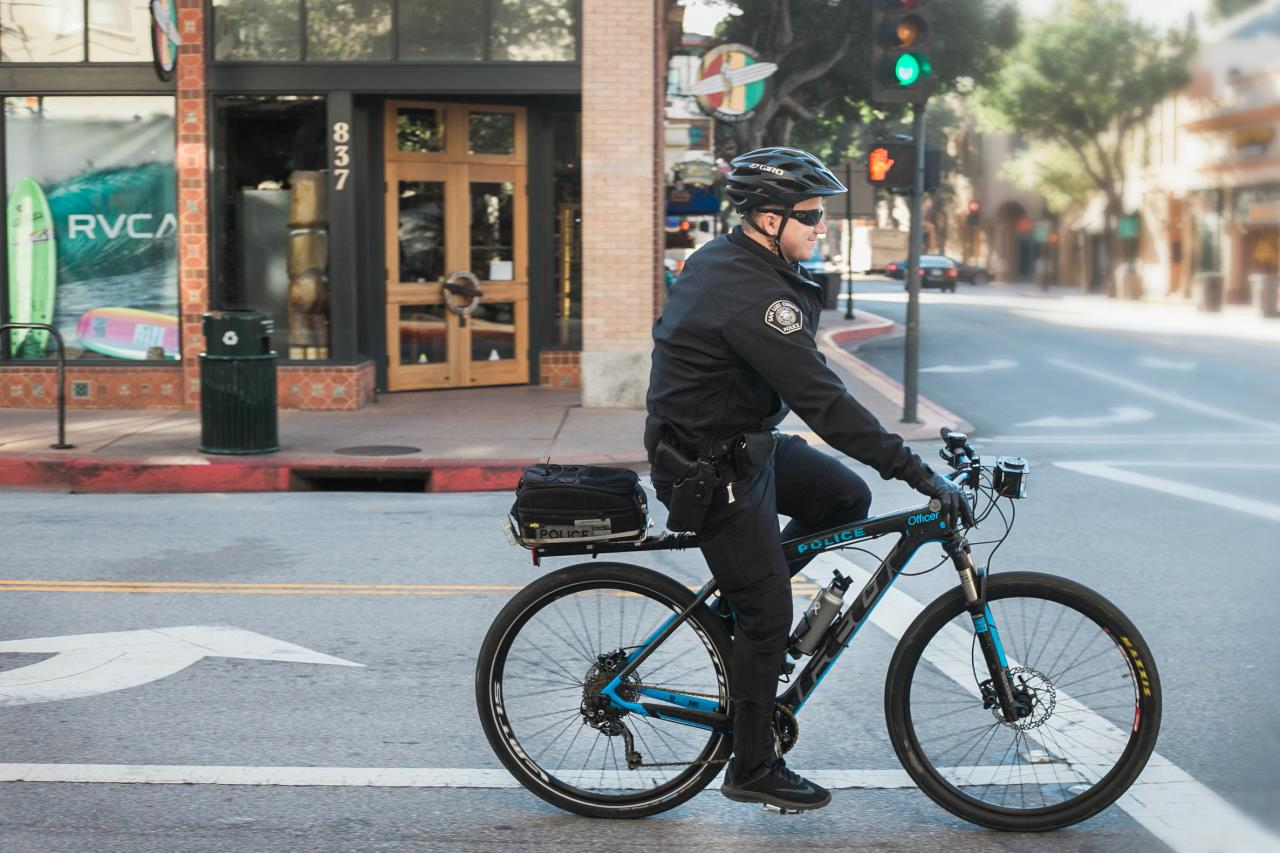 Downtown Bicycle Officer