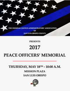 2017 Police Officers' Memorial