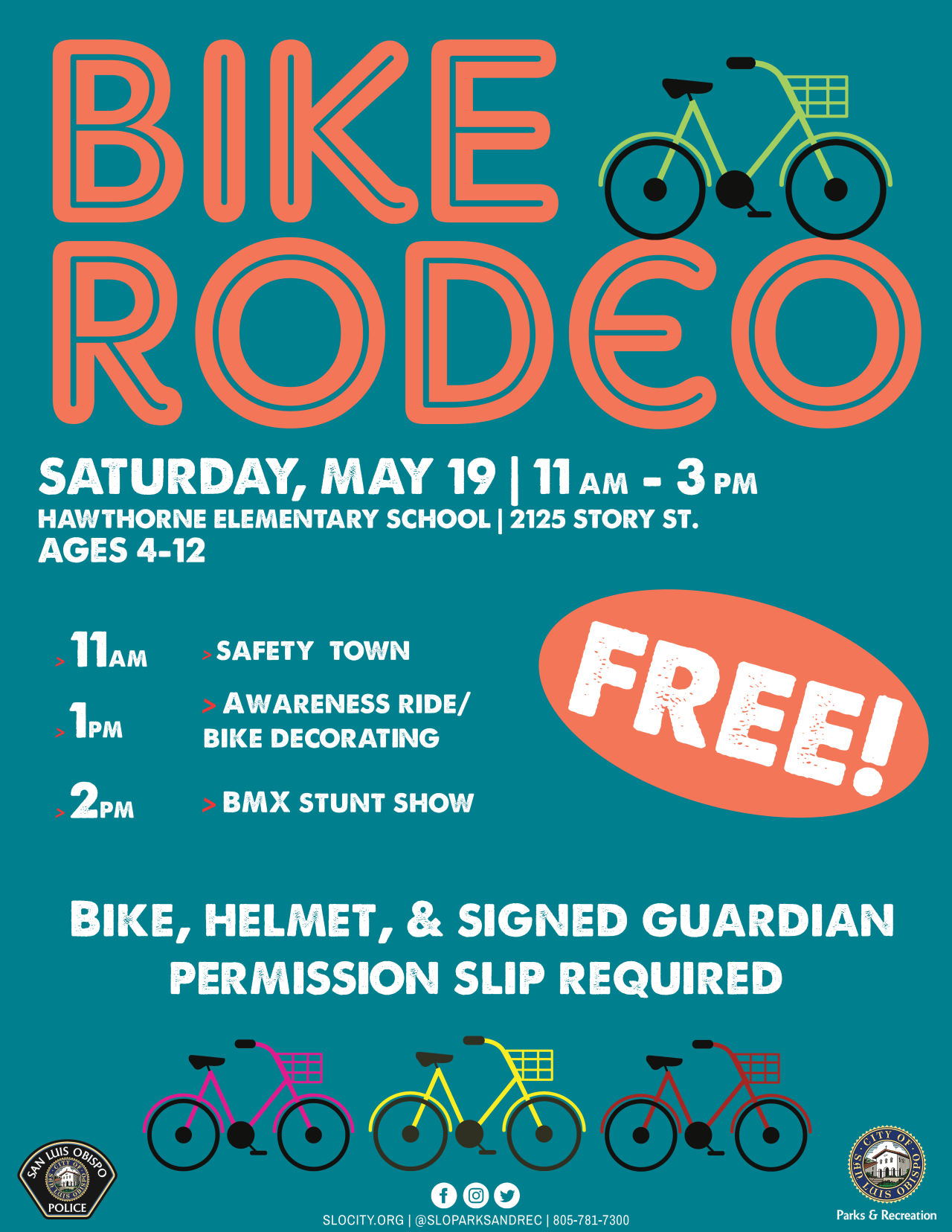 BIKE RODEO FLYER 18