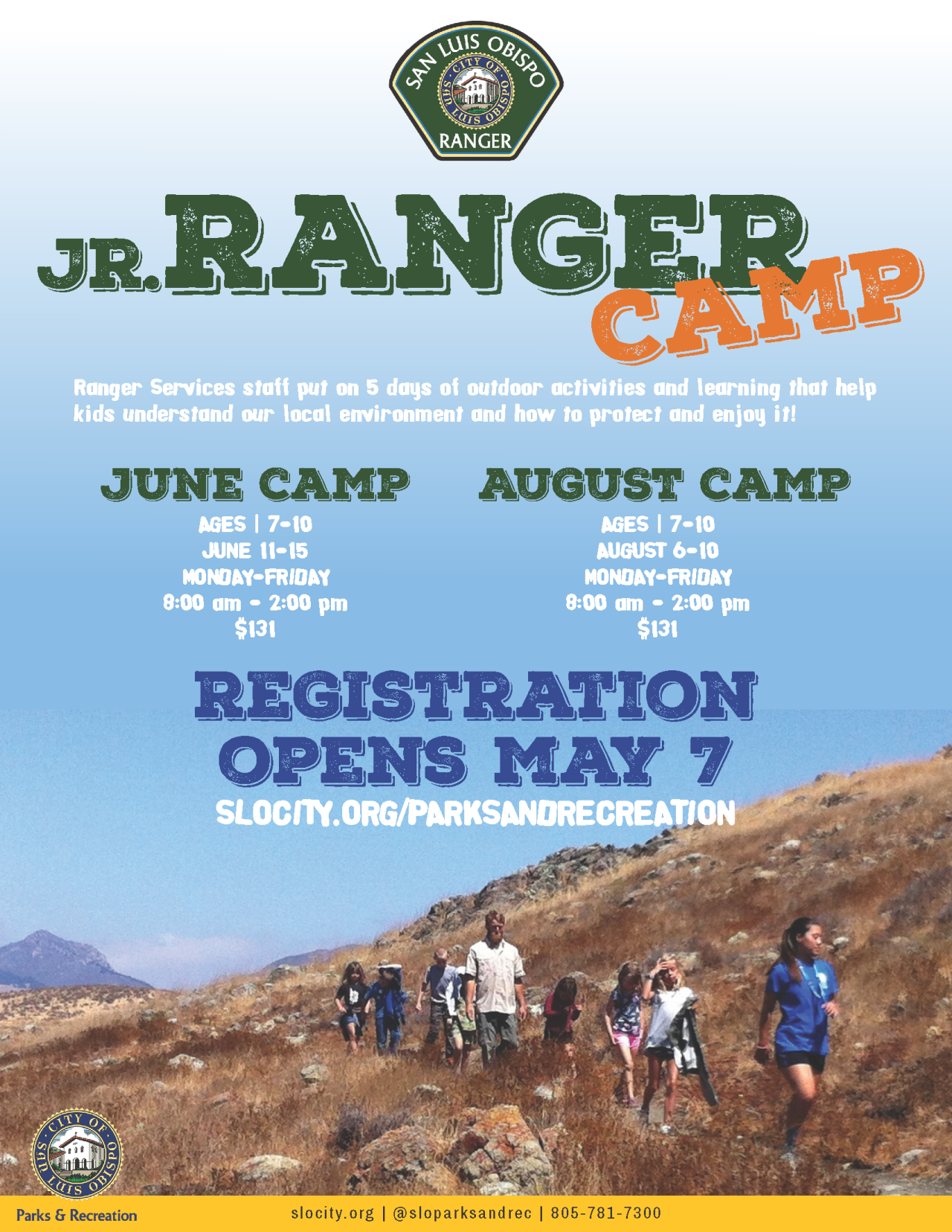 JR RANGER CAMP 2018