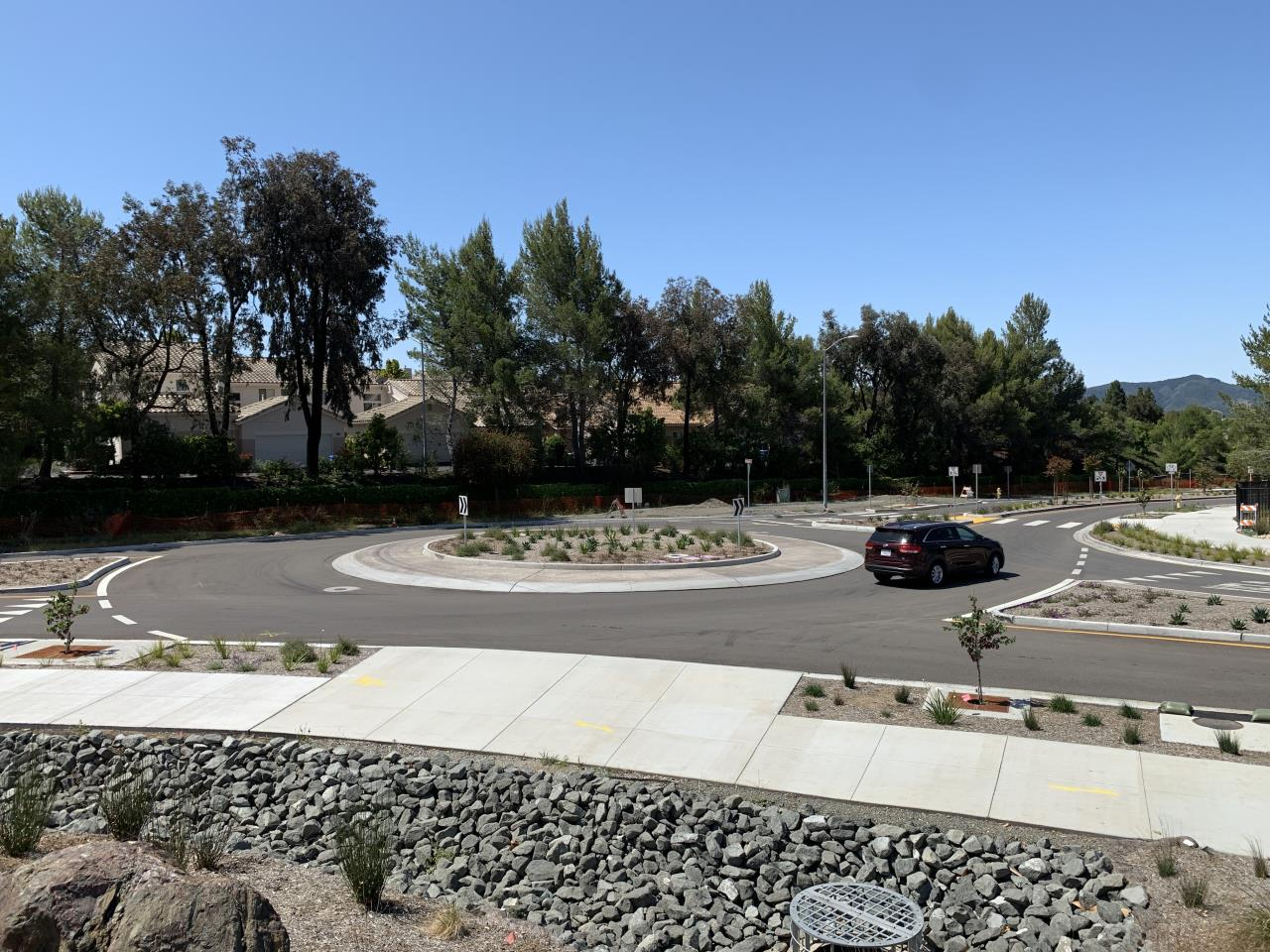 Righetti Tank Farm Roundabout