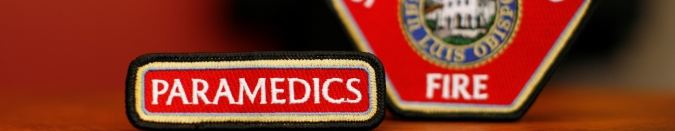 Paramedic patch banner
