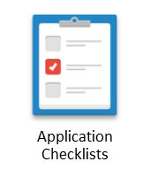 app checklist button