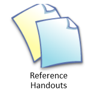 RefHandout button