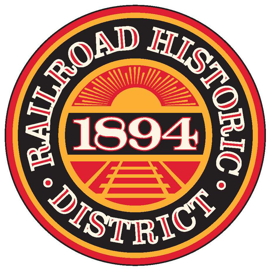 Railroad District Sign