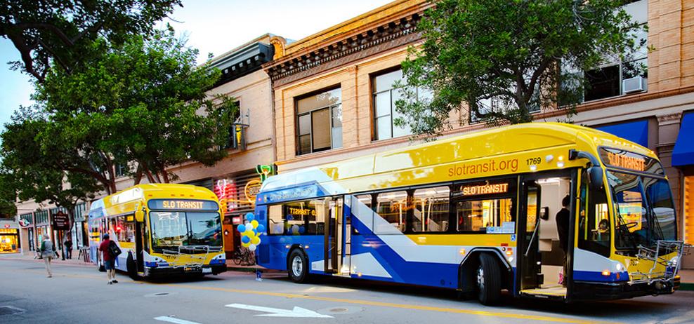 Public transportation bus schedule