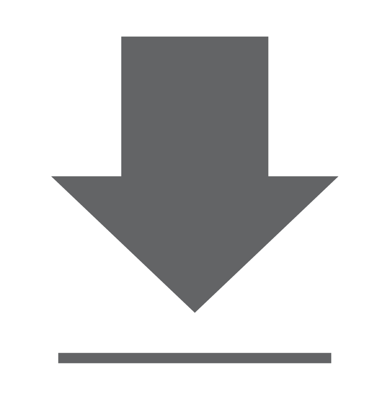 download button_downward arrow_base line