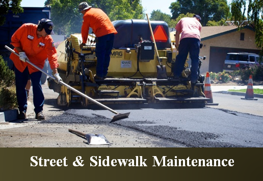 Streets & Sidewalk Maintenance