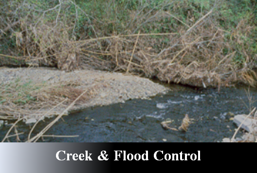Creek & Flood Control