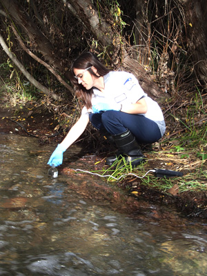 Sampling SLO Creek