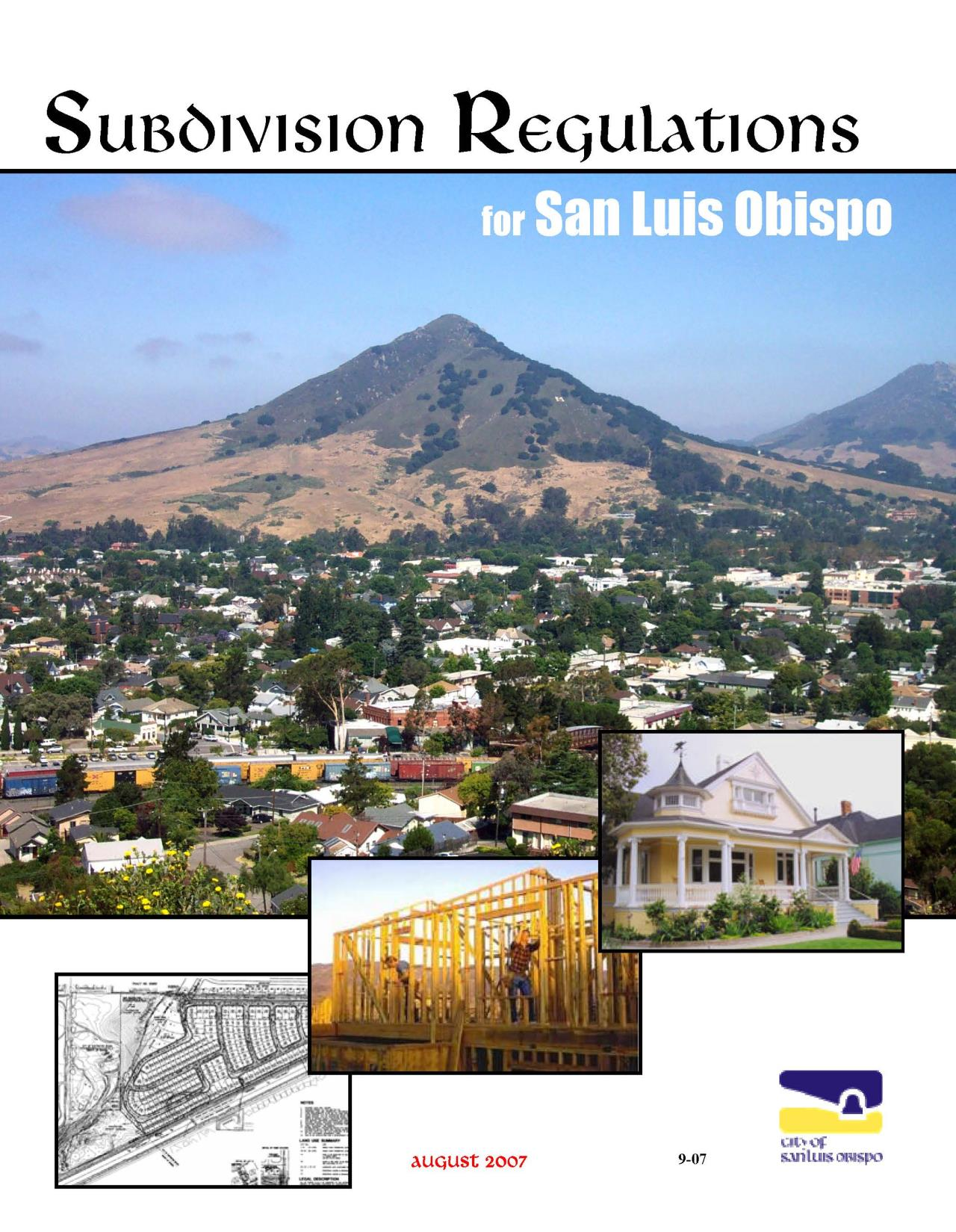 Pages from Subdivision Regulations