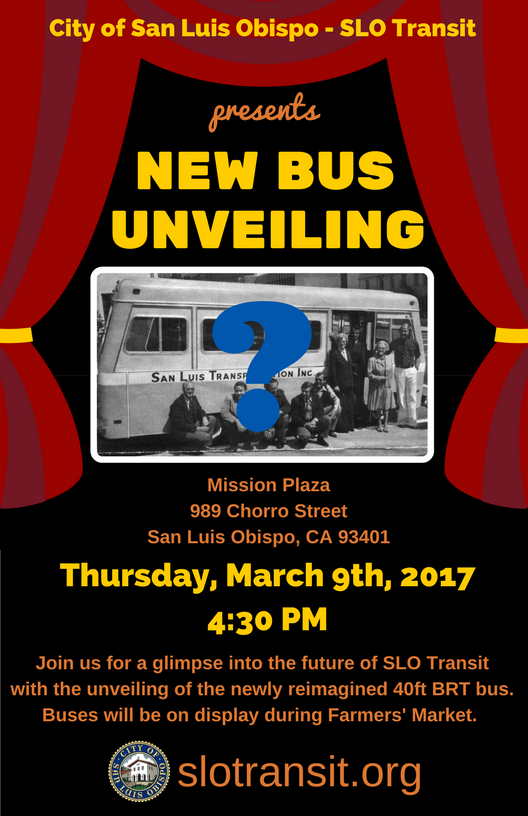Email to Public - New Bus Unveiling (Mar 9)