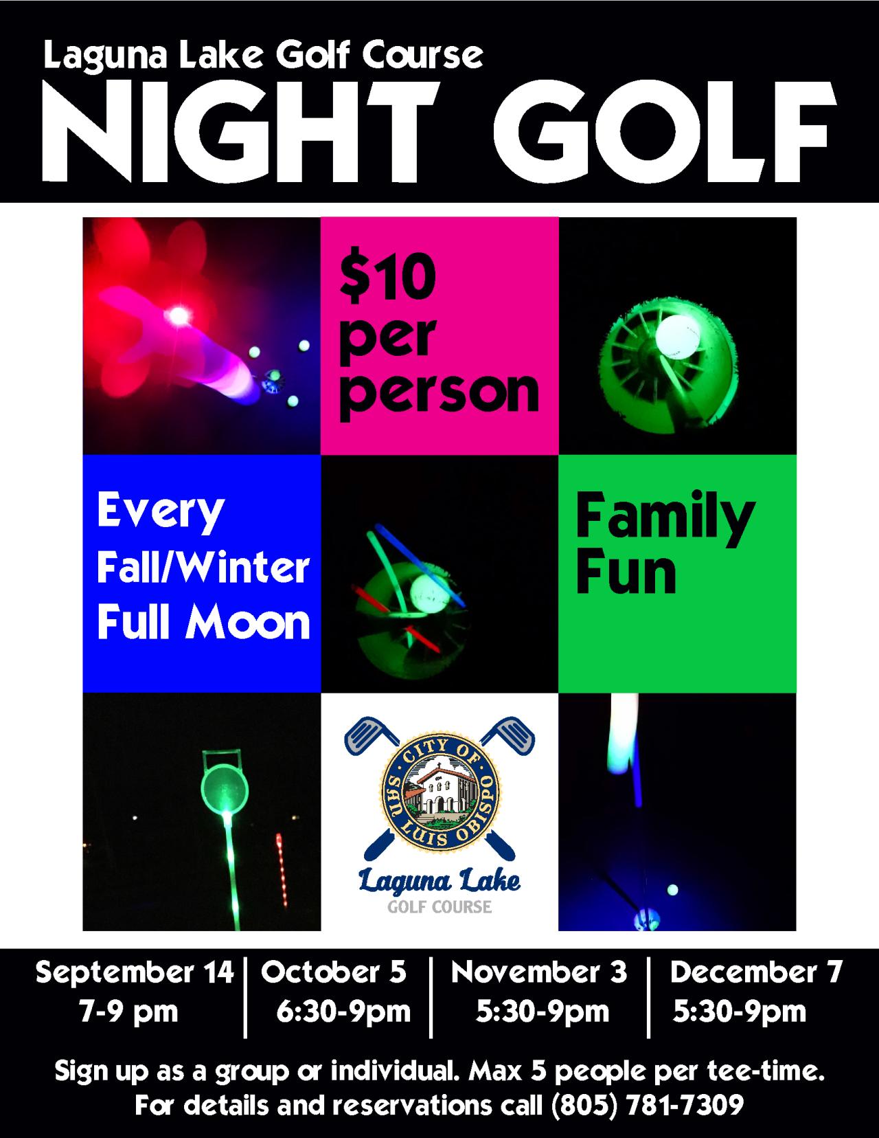 night golf fall 2017