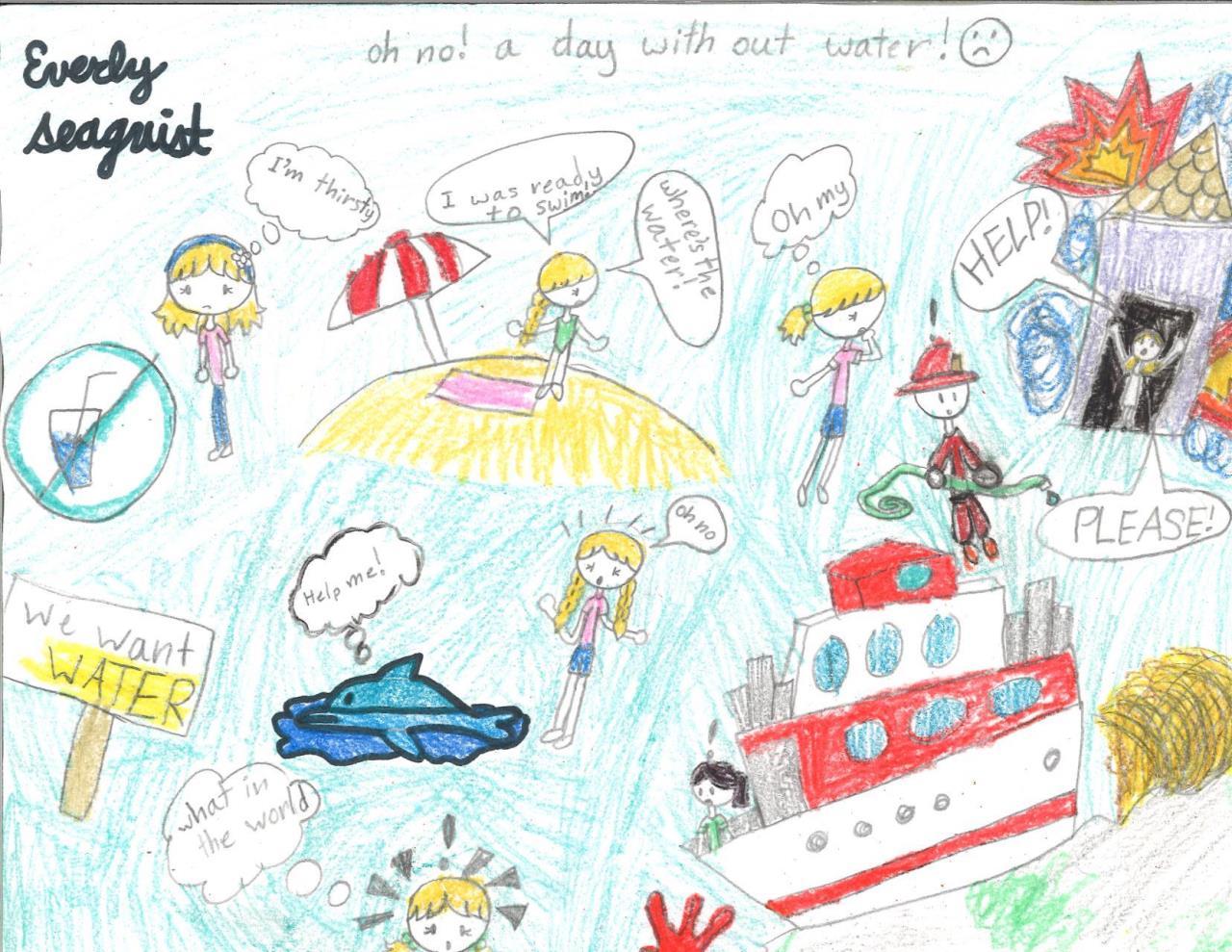 Grade 3: Everly Seaquist, *Winner*