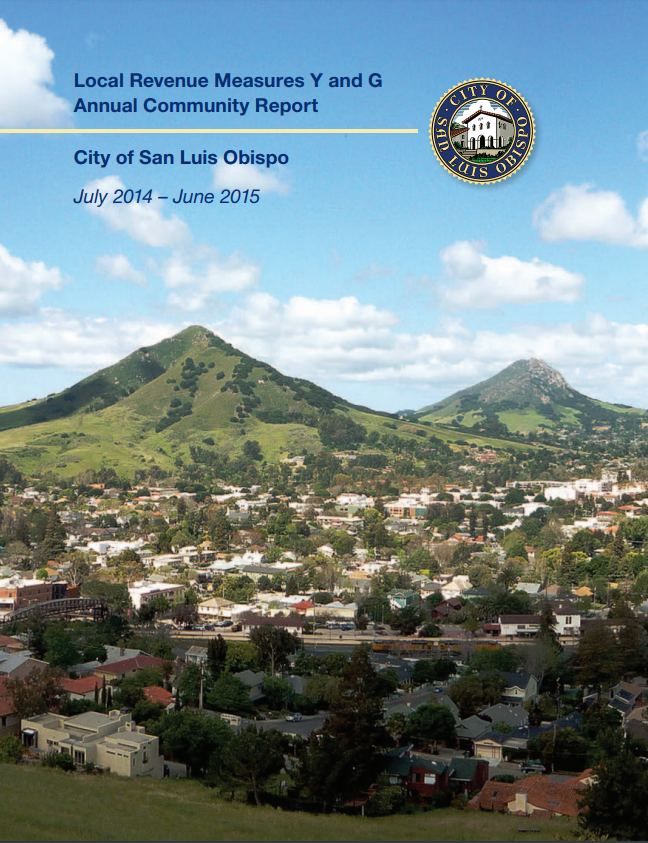 2014-15 Local Revenue Measure Annual Report