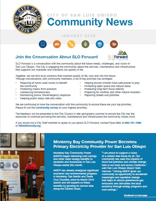 January 2020 Community News