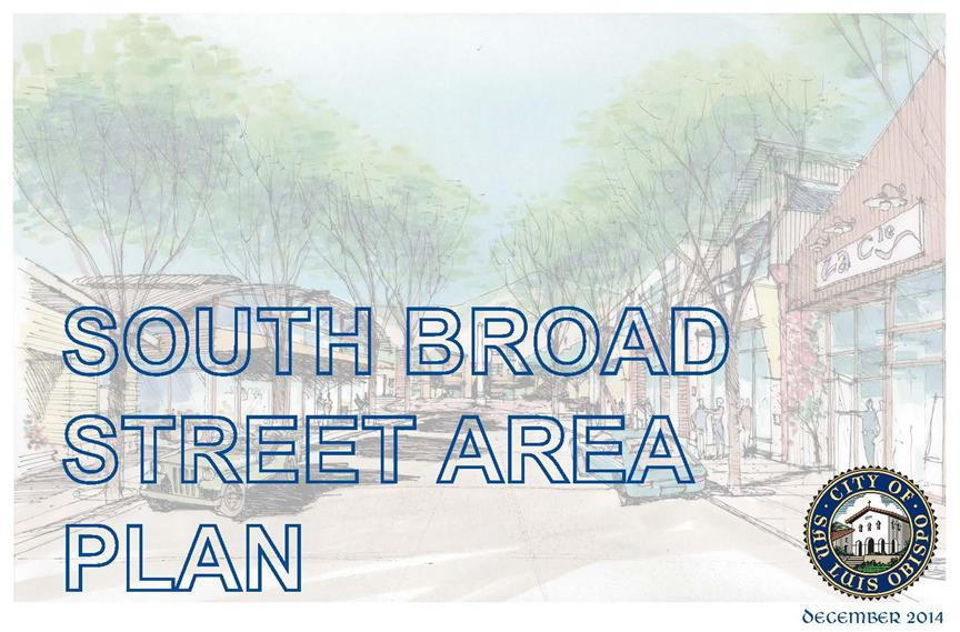 Pages from South Broad Street Corridor Plan (Dec 2014)