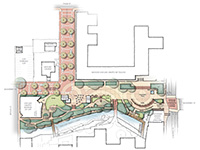 Mission Plaza Concept Plan Design Concept Alternatives